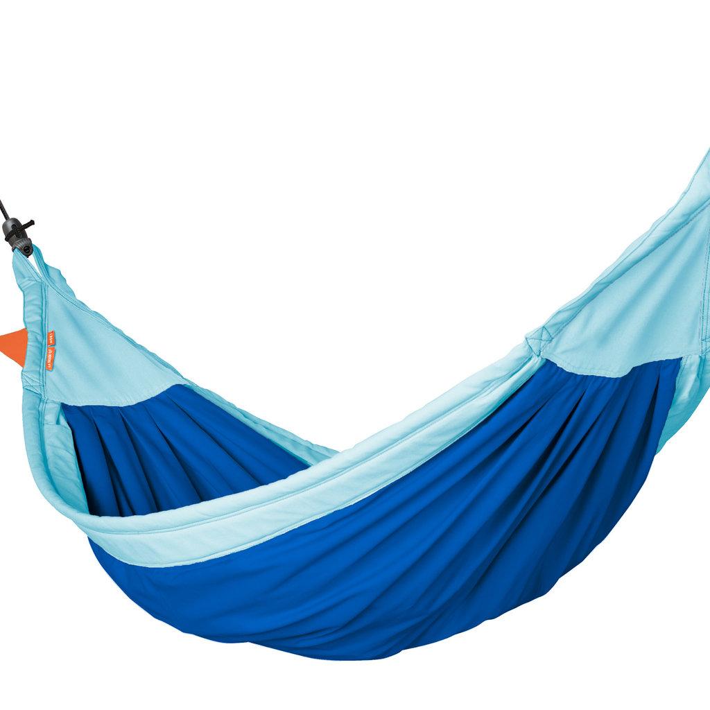 La Siësta Moki Dolphy Max blauwe kinderhangmat