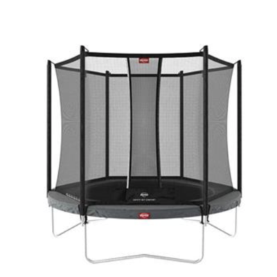 BERG trampolines Trampoline Favorit 330 Grey + safety net Comfort