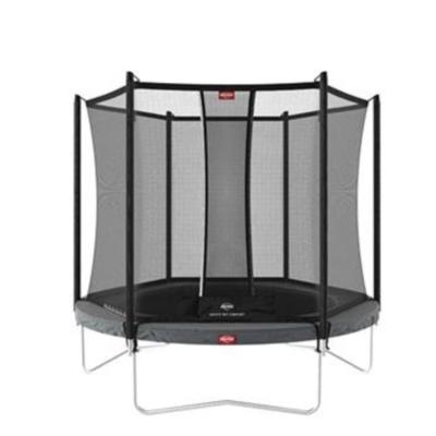 BERG trampolines Trampoline Favorit 330 gris + Filet de sécurité comfort