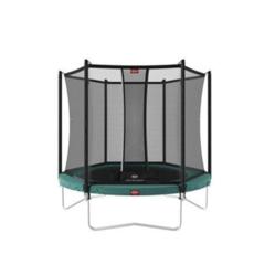 BERG trampolines Trampoline Favorit 330 Green + safety net Comfort