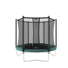 BERG trampolines Trampoline Favorit 330 groen + veiligheidsnet Comfort