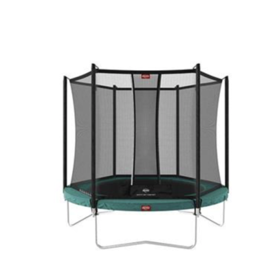 Berg trampolines Trampoline Favorit 330 groen + safetynet Comfort