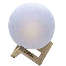 National Geographic Lampe lune 3D