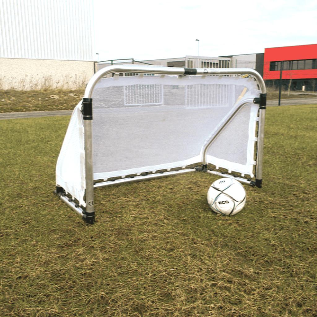 Megaform Foldable aluminium goal 155x95x75cm