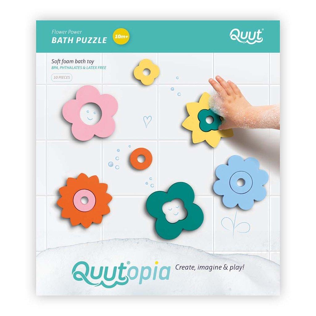 Quut Flower Power bath puzzle