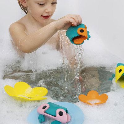 Quut Frog Pond bath puzzle