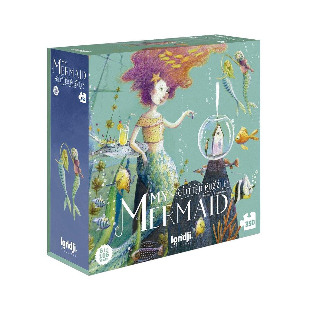Londji My mermaid glitter puzzle