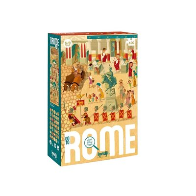 Londji Puzzle go to Rome