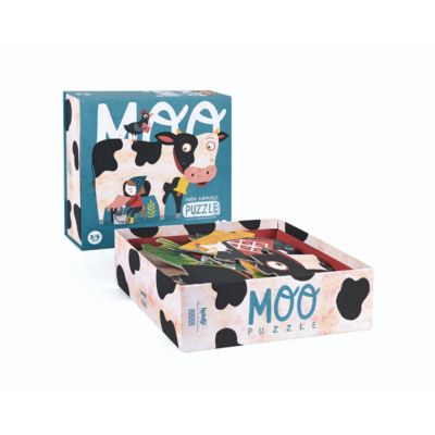Londji Moo - farm animals puzzle