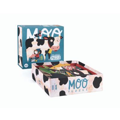 Londji Moo - puzzel animaux de ferme