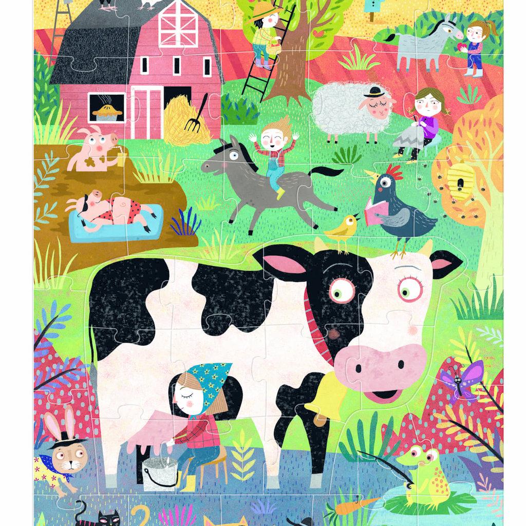 Londji Moo - boerderijdierenpuzzel