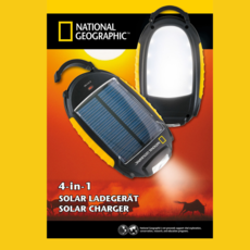 National Geographic Solar charger 4-in-1