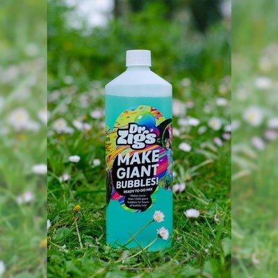 Dr. Zigs Giant bubbles ready to go zeepbellenmix (1l)