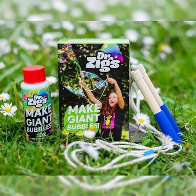 Dr. Zigs Giant bubbles travel kit