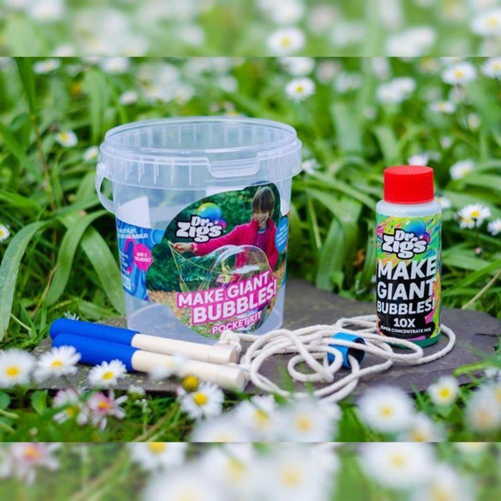 Dr. Zigs Giant bubbles pocket kit