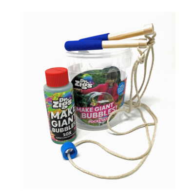 Dr. Zigs Giant bubbles pocket kit