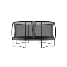BERG trampolines Trampoline Grand Champion 520 grijs + veiligheidsnet Deluxe
