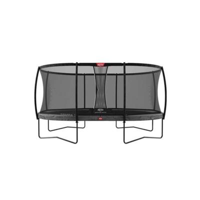 BERG trampolines Trampoline Grand Champion 520 grey + safety net Deluxe