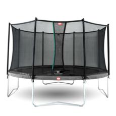 BERG trampolines Trampoline Favorit 430 grijs + veiligheidsnet Comfort