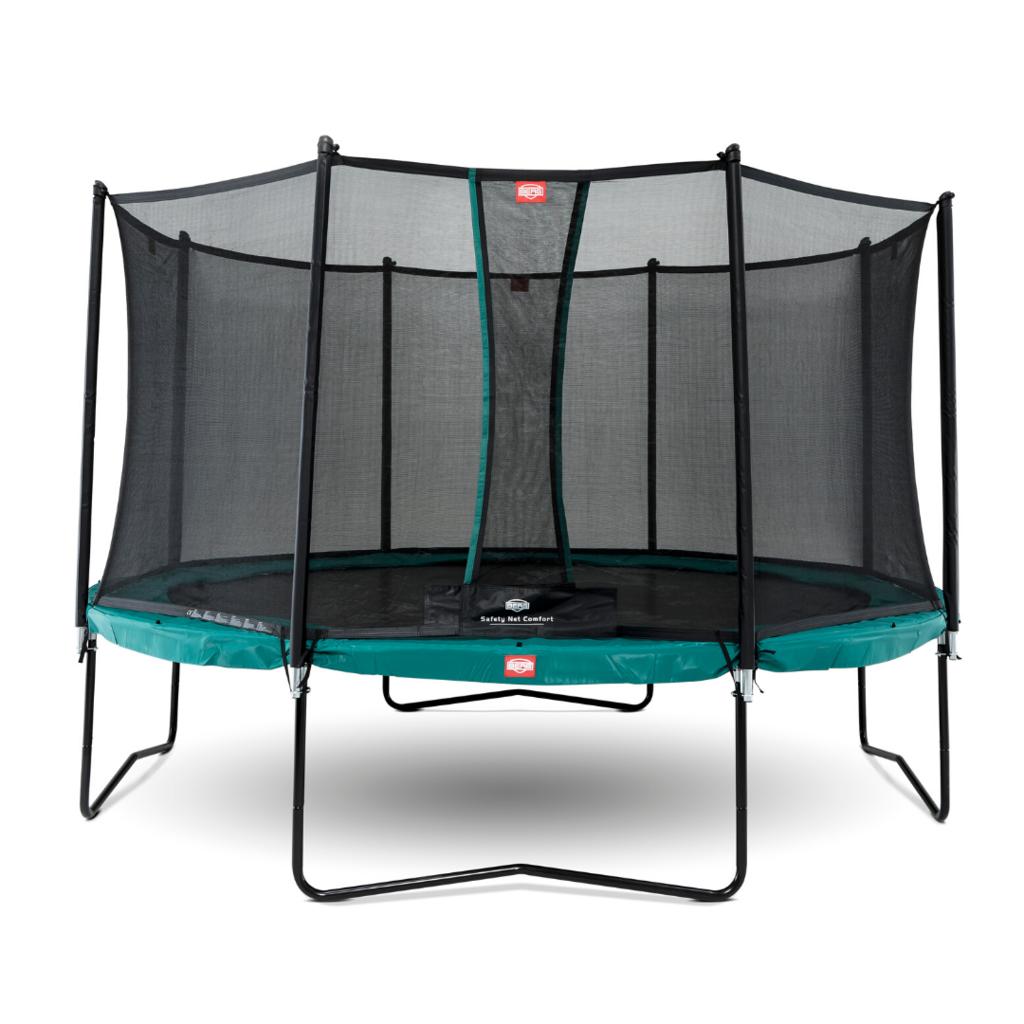BERG trampolines Berg Trampoline Champion Green 430 + safety net Comfort