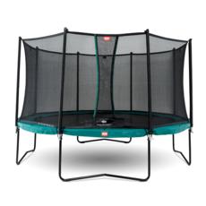 BERG trampolines Berg Trampoline Champion Vert 430 + filet de sécurité Comfort