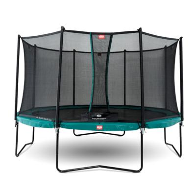 BERG trampolines Trampoline Champion Vert 430 + filet de sécurité Comfort