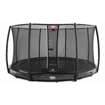 BERG trampolines Trampoline Inground Champion Grey 430 + safety net DLX XL