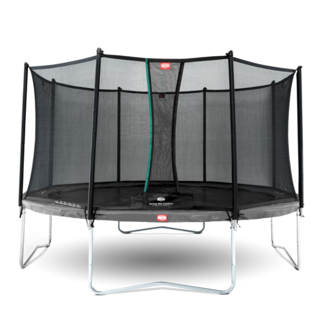 BERG trampolines Berg Trampoline Favorit Grey 380 + safety net Comfort