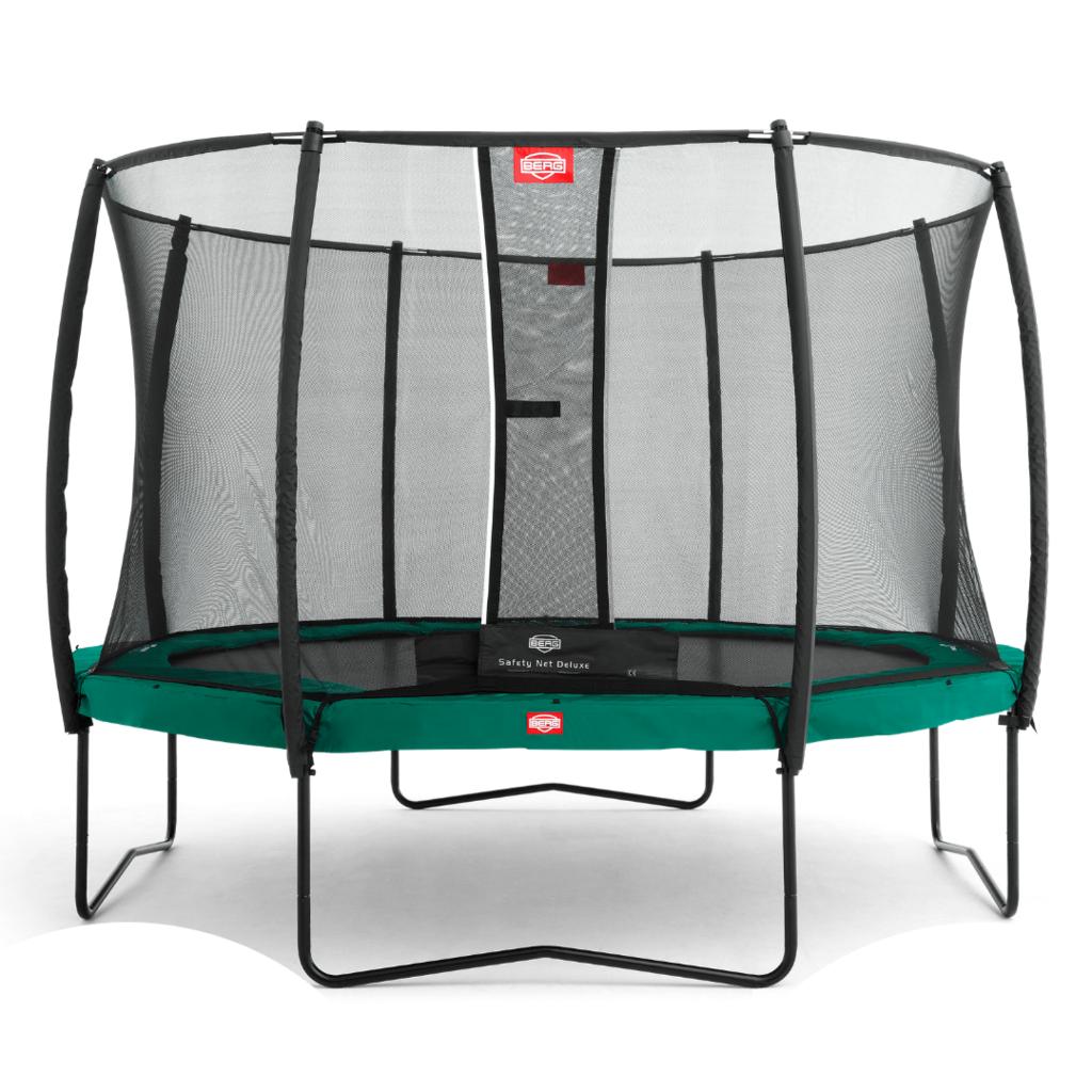 BERG trampolines Berg Trampoline Champion Vert 380 + filet de sécurité Deluxe