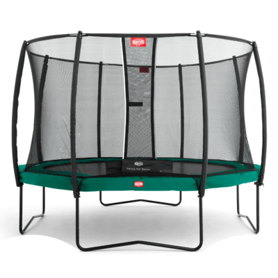 BERG trampolines Trampoline Champion Green 380 + safety net Deluxe