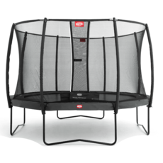 BERG trampolines Berg Trampoline Champion Grey 380 + safety net Deluxe