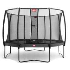 BERG trampolines Trampoline Champion 380 grijs + veiligheidsnet Deluxe