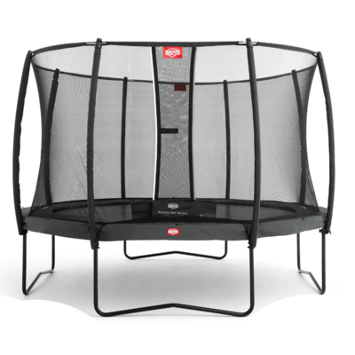 BERG trampolines Trampoline Champion Grey 380 + safety net Deluxe
