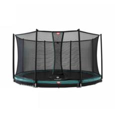 BERG trampolines Trampoline Inground Champion Green 430 + safety net Comfort