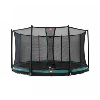 BERG trampolines Trampoline Inground Champion 430 groen + veiligheidsnet Comfort