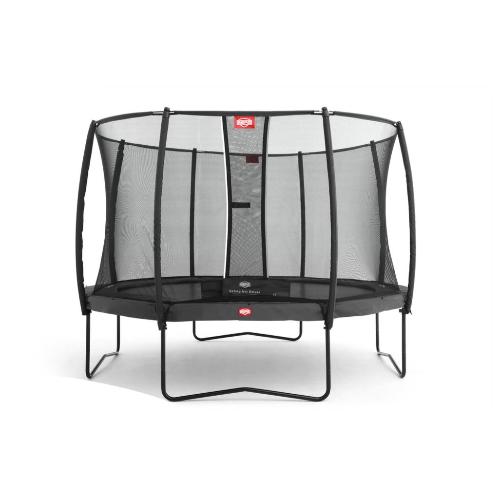BERG trampolines Trampoline Champion 430 grijs + veiligheidsnet Deluxe