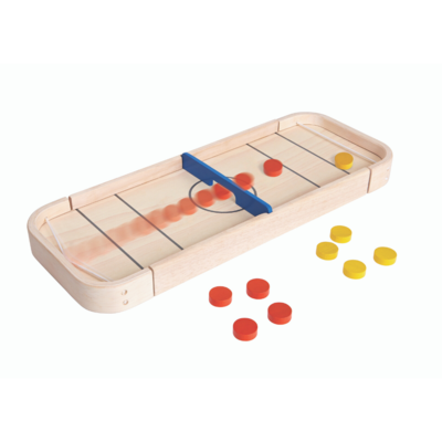 Plan Toys 2-in-1 shuffleboard game