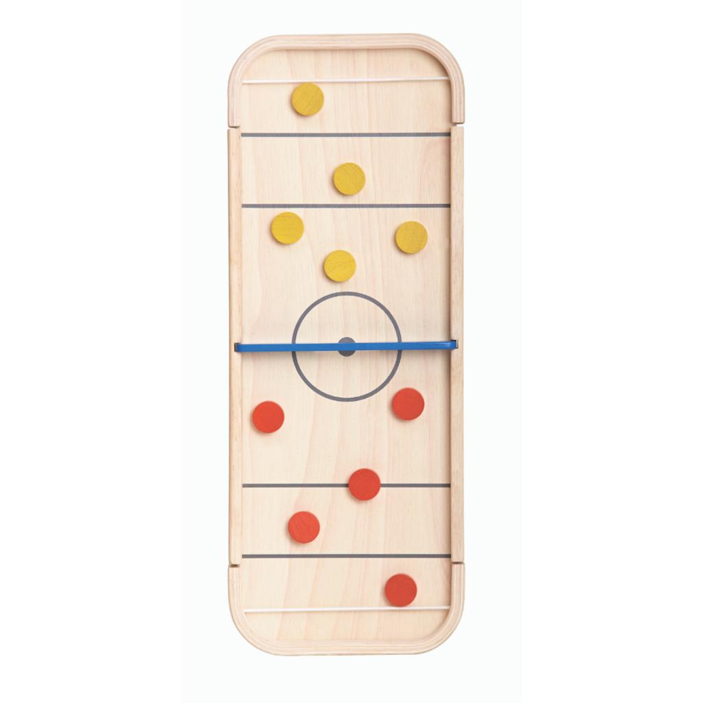 Plan Toys Plan Toys 2-in-1 shuffleboard game