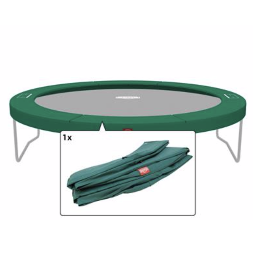 BERG trampolines Trampoline Champion 380 - beschermrand groen