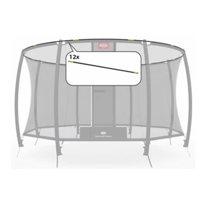 BERG trampolines Safety net Deluxe - tent tubes 430