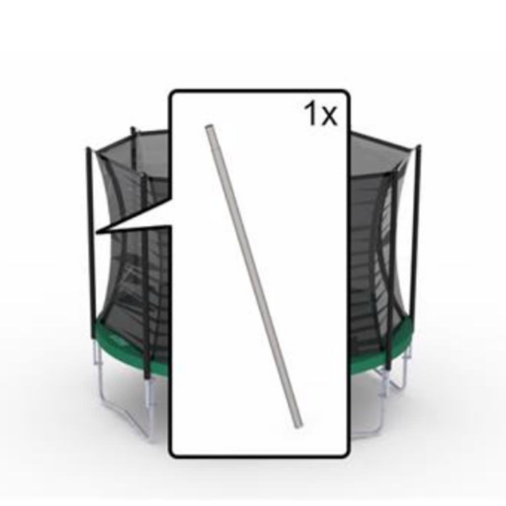 BERG trampolines Safety net Comfort - onderpaal