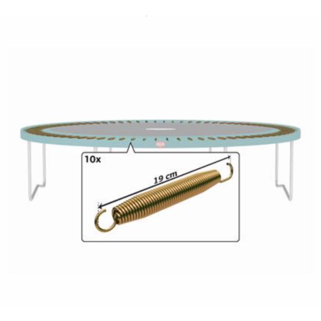 BERG trampolines Trampoline Favorit - Goldspring solo veren (10st)