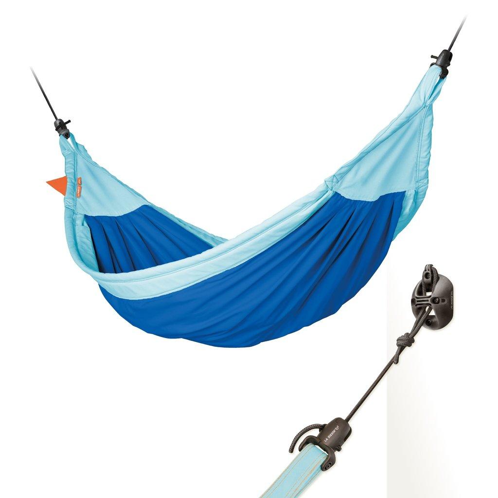 La Siësta Moki Dolphy blauwe kinderhangmat
