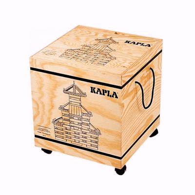 Kapla Houten box met 1000 plankjes