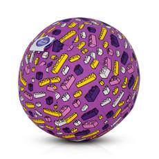 Bubabloon Balloon cover 'Blocks purple'