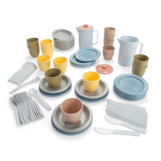 Dantoy Lunchset bio plastic (94st)
