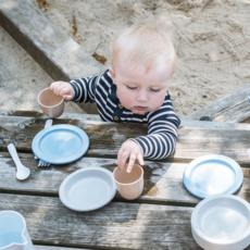 Dantoy Set petit déjeuner en bioplastique (94st)