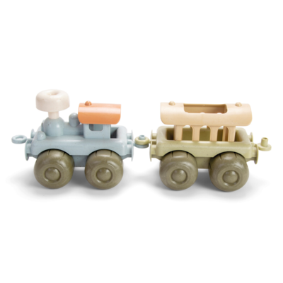 Dantoy Set de train en plastique bio