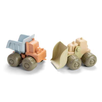 Dantoy Ensemble de véhicules de construction bio
