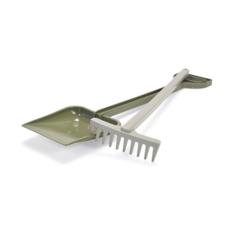 Dantoy Green bean set of shovel and rake